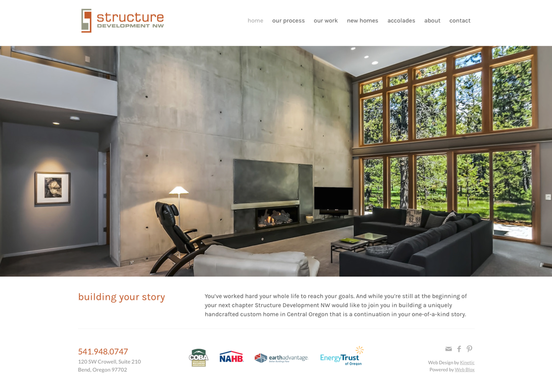 Structure Development Website Design